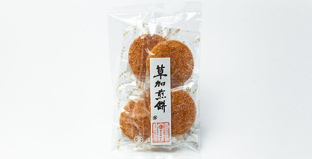 草加煎餅 ざらめ(双目)